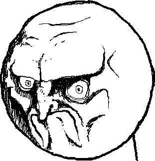 мем нет, человек который говорит нет, мемы с лицами, no rage face, rage comics