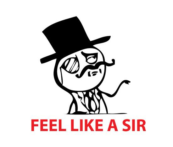 feel like a sir original