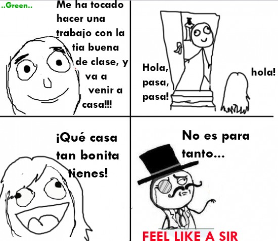 feel like a sir spain