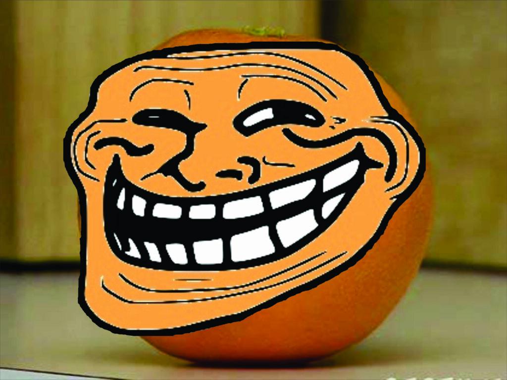 апельсин тролль