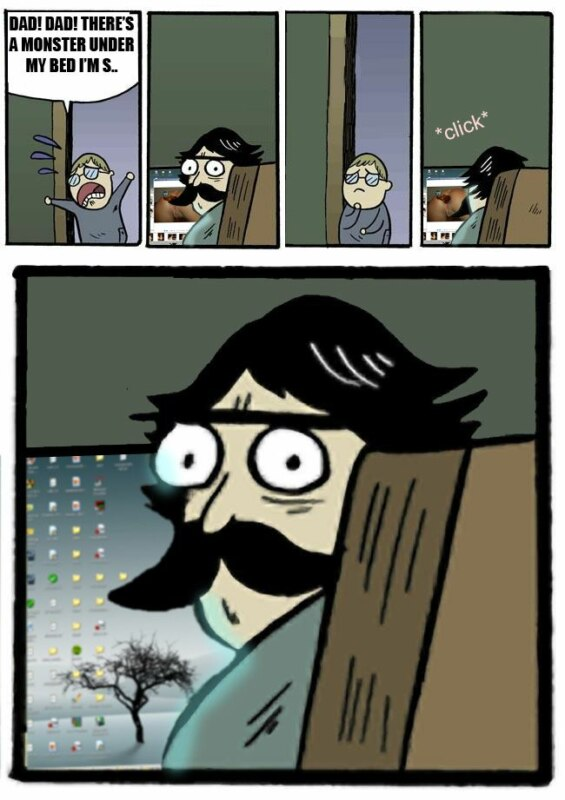 отец и сын комикс