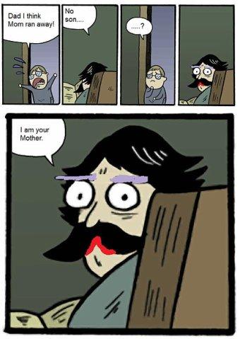 я твоя мать комикс