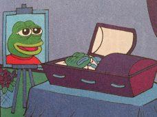 пепе умер, пепе мертв, мем лягушка, лягушонок пепе мертв, pepe dead, pepe the frog dead, мэтт фьюри, комикс про лягушку, кто придумал пепе, как появился пепе, мем про грустную лягушку, грустная зеленая лягушка, картинка лягушка пепе