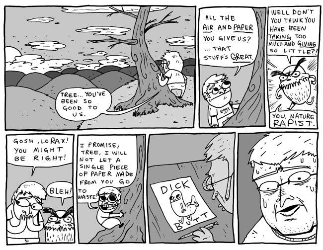 dick butt оригинал комикс