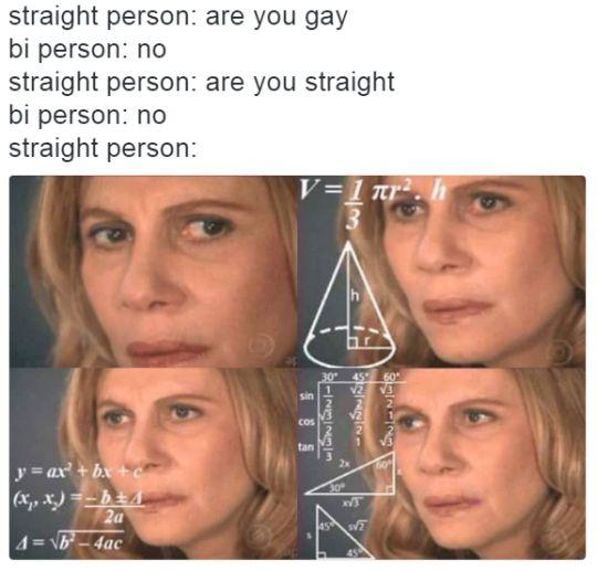 straight person