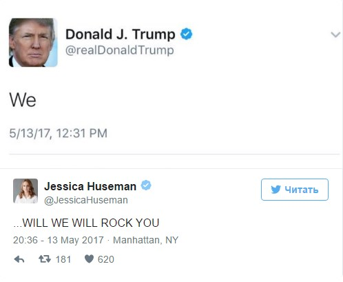 trump we will rock you