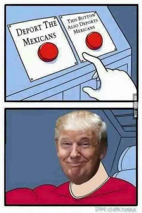 трамп красная кнопка