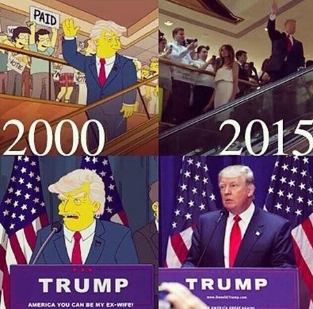 трамп симпсоны