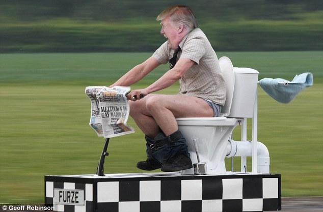 трамп фотожабы