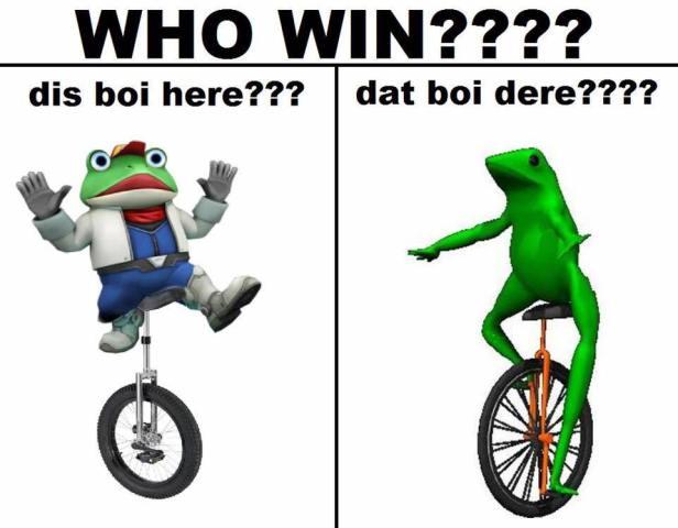dat boi мемы