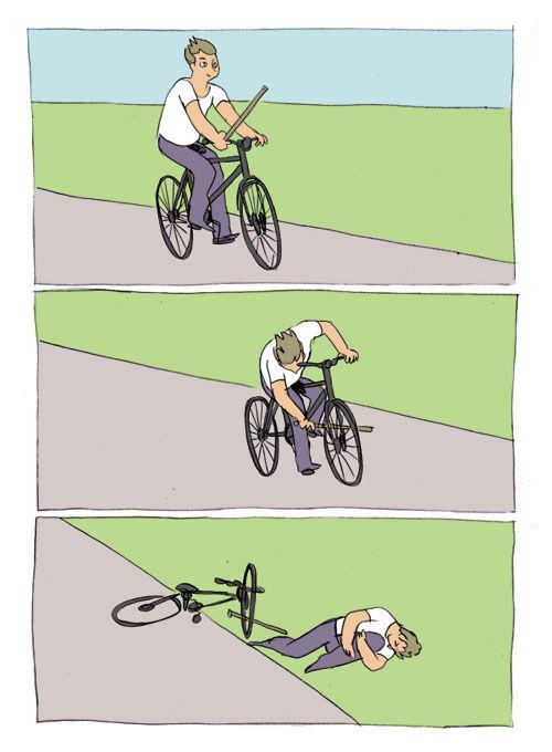 палка в колесо