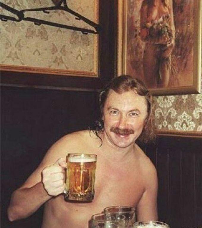 игорь николаев с пивом оригинал