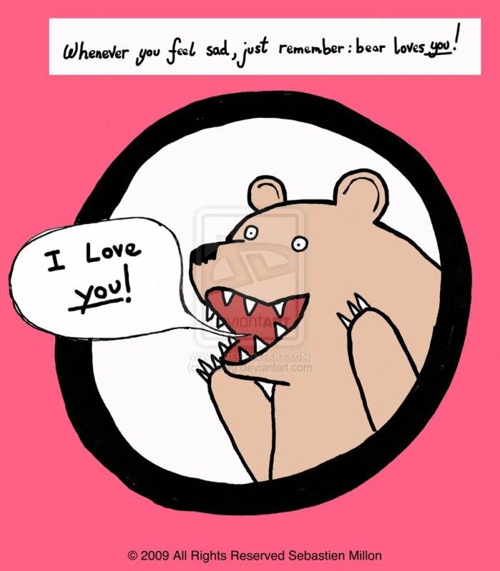 картинка медведя кричащий шлюха