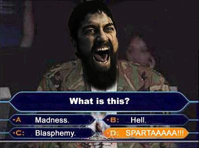 Это безумие? Нет, это Спарта