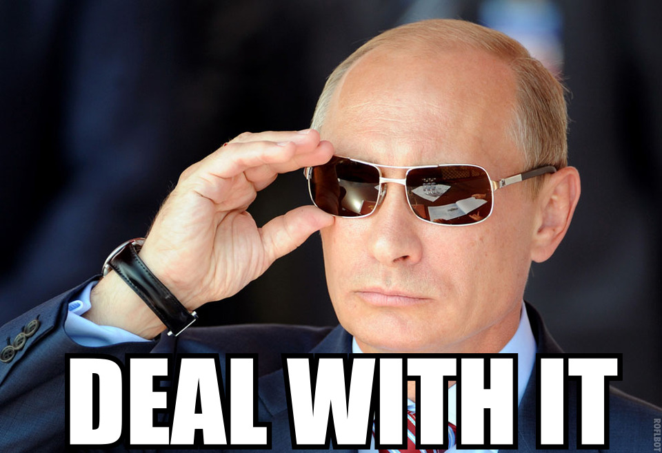deal with it значение (4)