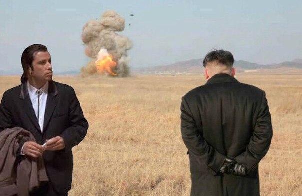 ким чен ын наблюдает за запуском ракеты (6)