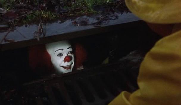 клоун в канализации