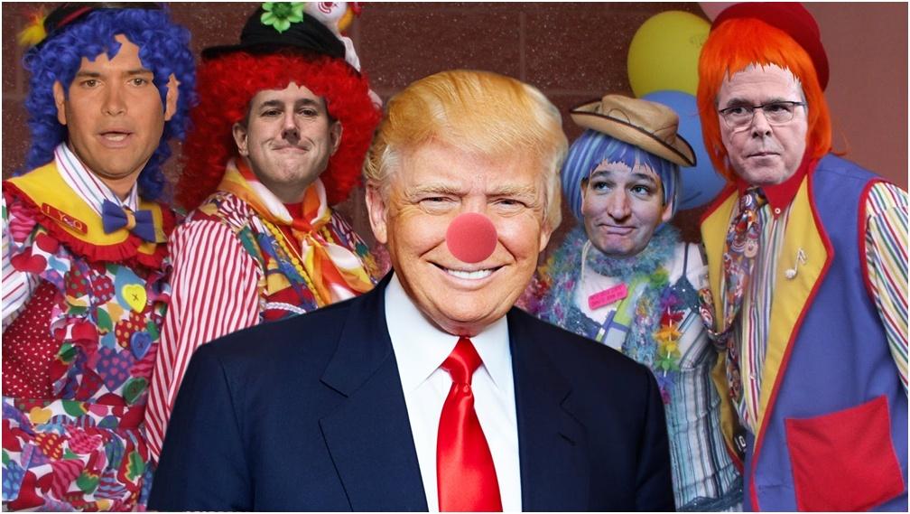 клоун трамп