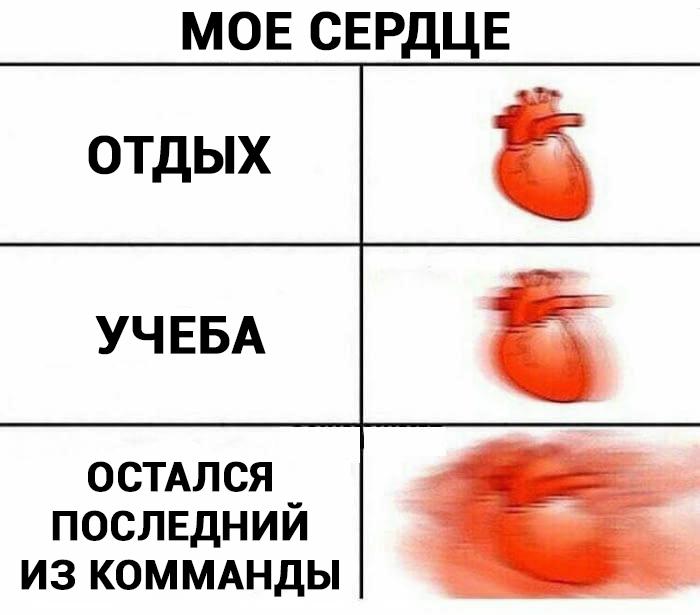 мем мое сердце