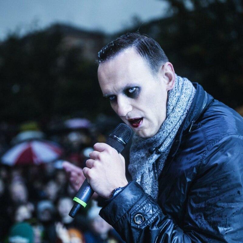 навальный с микрофоном