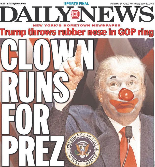 трамп клоун