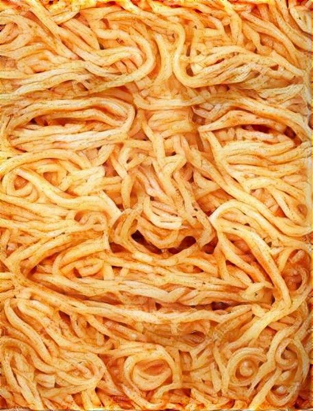 рисунки из спагетти (1)