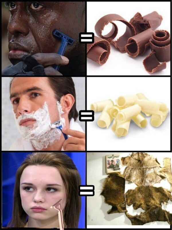 как бреются люди (4)