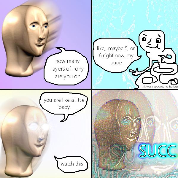 сюрреалистичные мемы с головой (5)