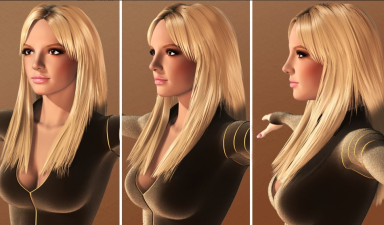 Бритни Спирс или Марж Симпсон: сумасшедшие 3D-модели Клеопатры по версии твиттера