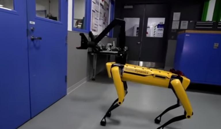 """""""У меня отвалилась жопа"""": роботы Boston Dynamics отвечают людям в """"правильной"""" озвучке"""