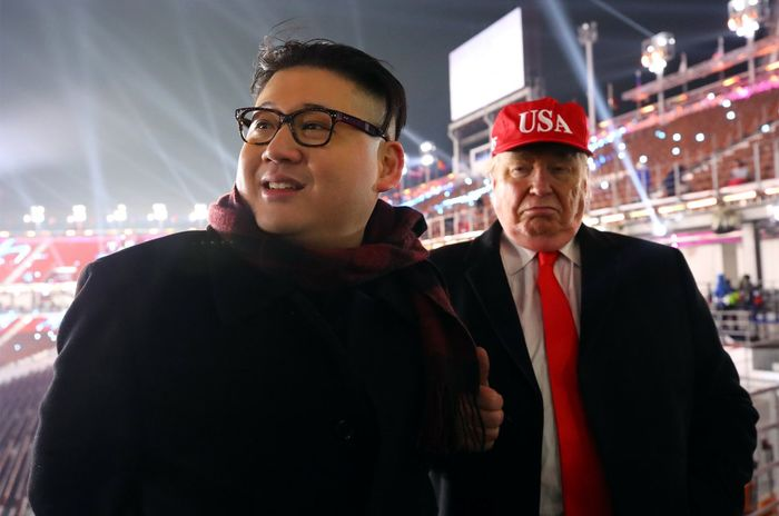 Двойник Ким Чен Ына на Олимпиаде оказался героем клипаLittle Big о любви к ядерной бомбе