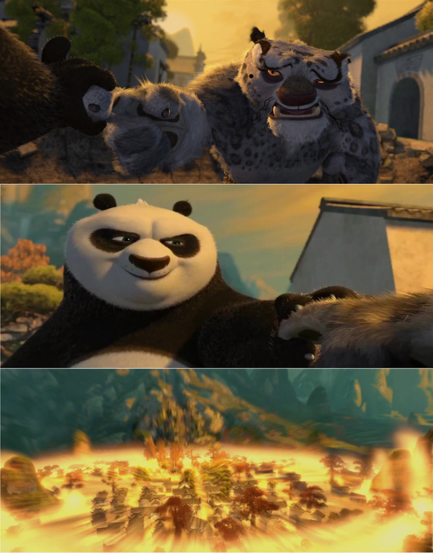 Прием с пальцем от Кунг-фу панды