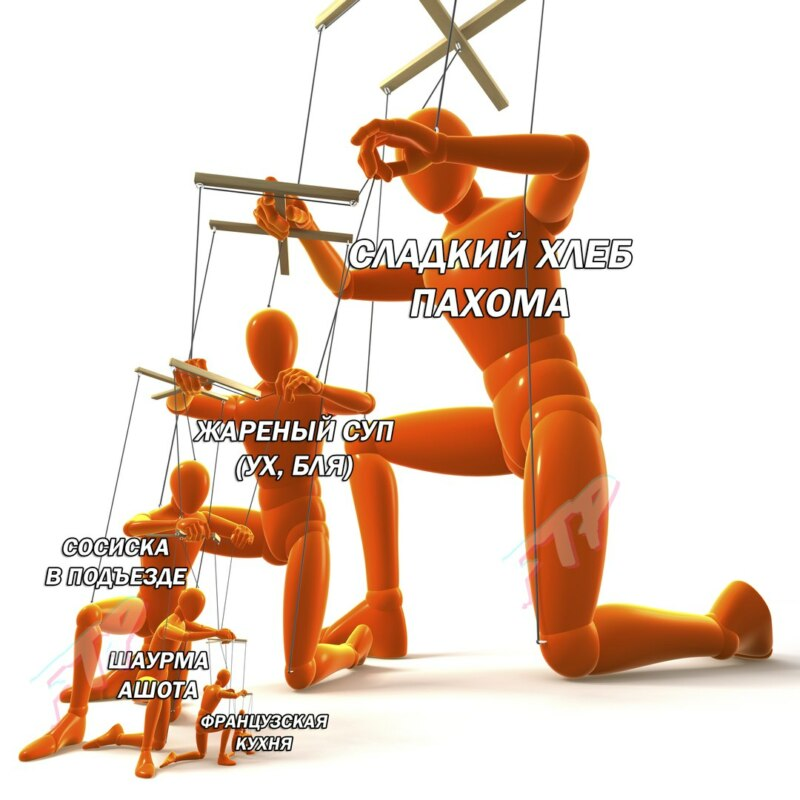 Марионетки управляют друг другом