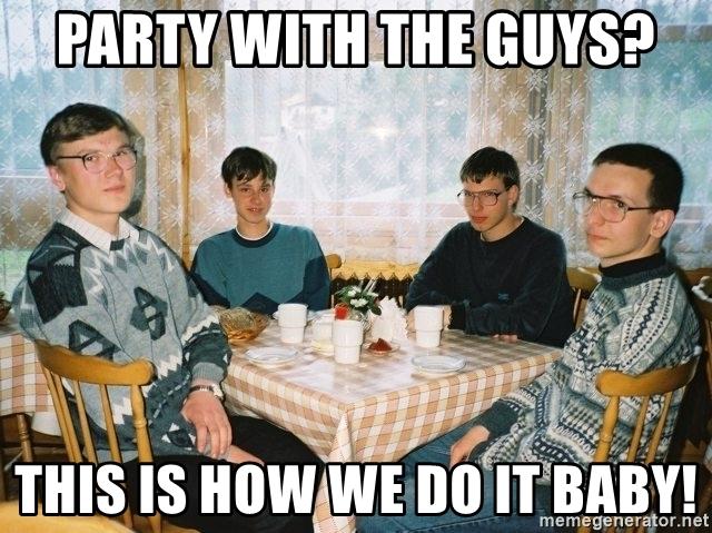 Сумасшедшая вечеринка ботанов