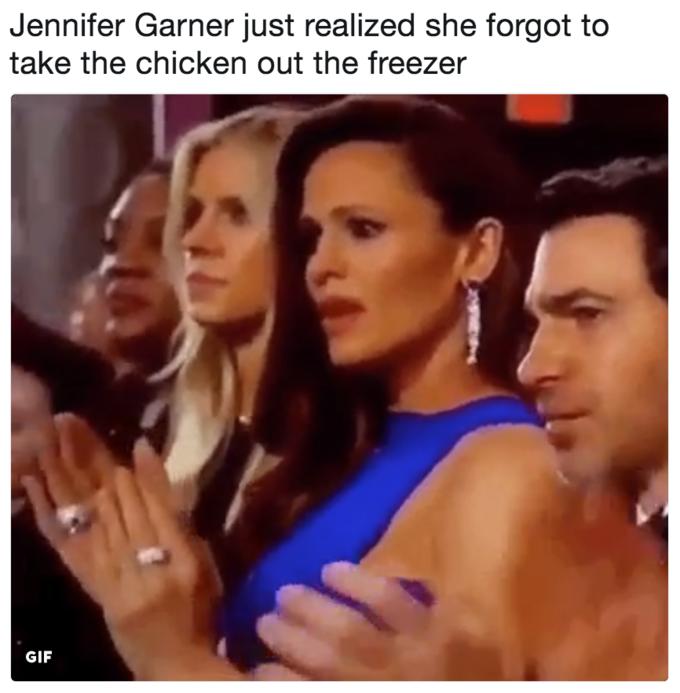 Дженнифер Гарнер осознает