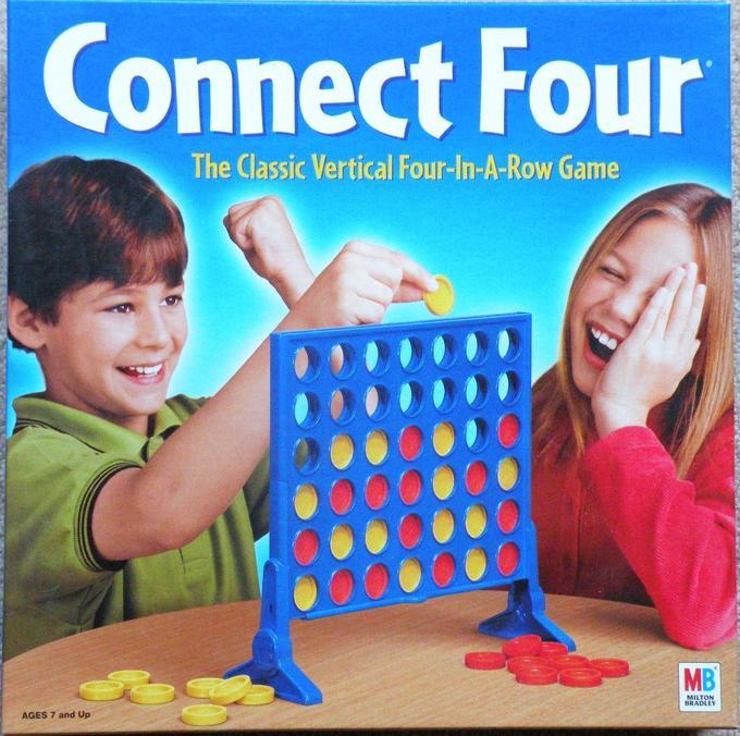 соедини четыре