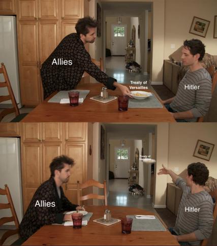 Парень выбрасывает тарелку