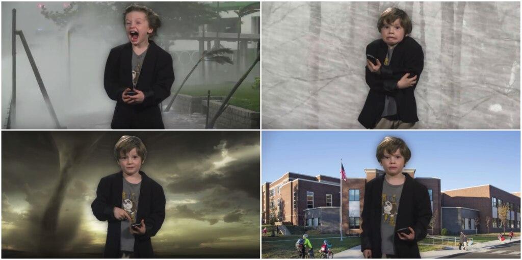 Карден Кортс показывает погоду