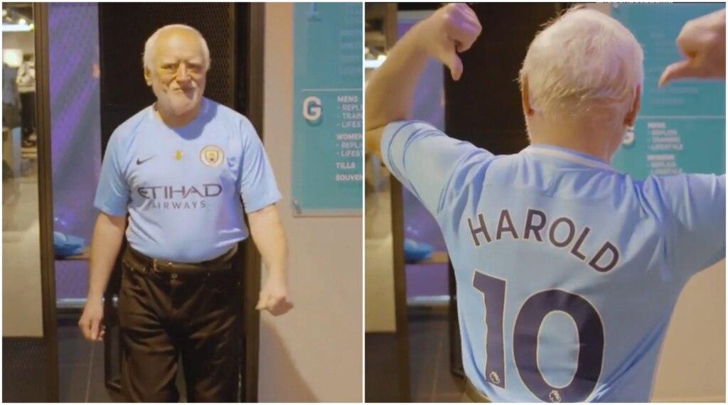Гарольд в Манчестере