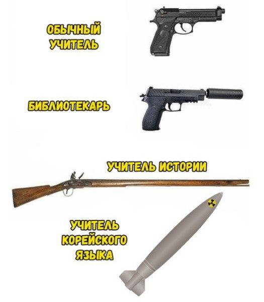 Оружие учителей