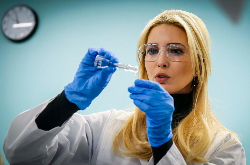 иванка трамп ученый