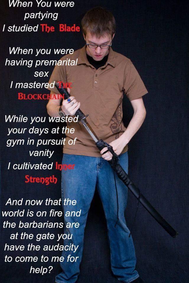 я овладел мечом