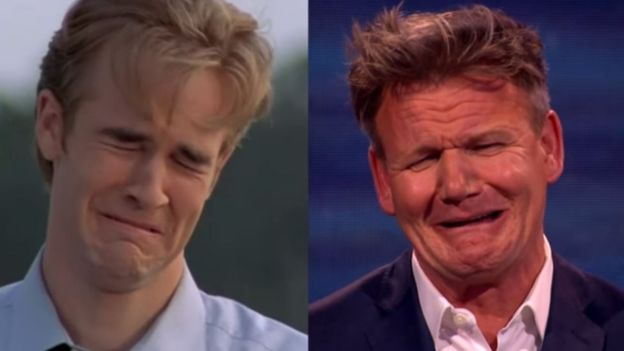 creek meme Dawson crying