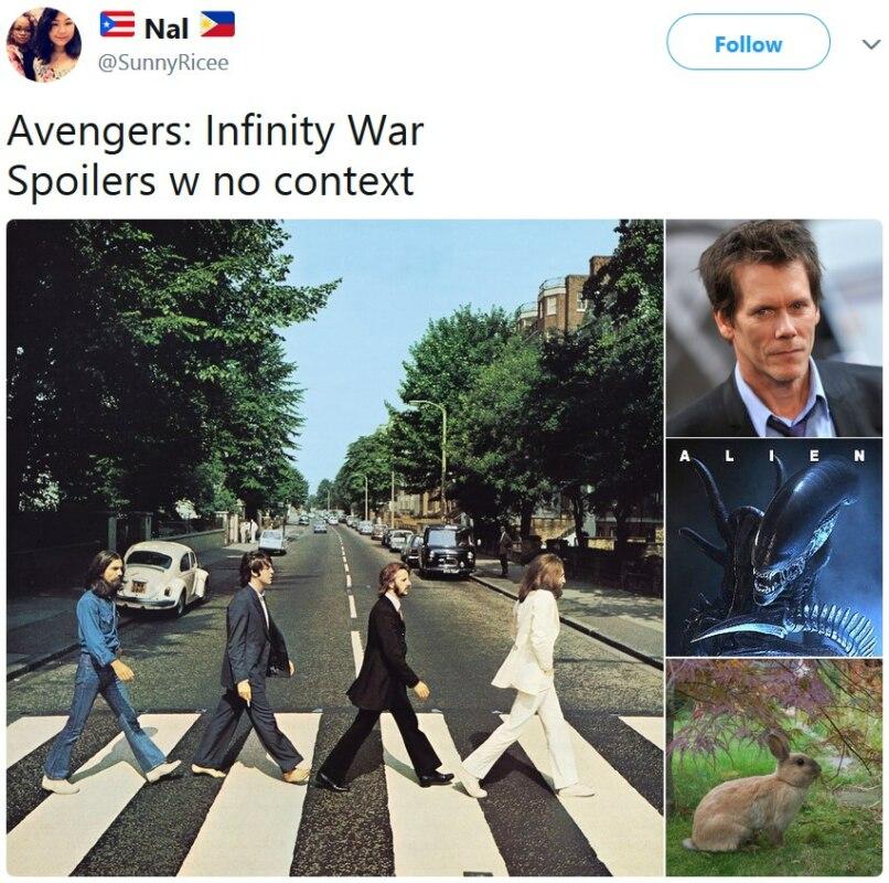 """Спойлеры """"Мстителей"""" без контекста"""