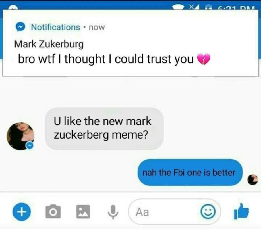 Цукерберг следит за тобой