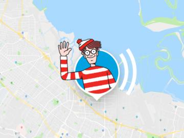 где валдо игра google maps