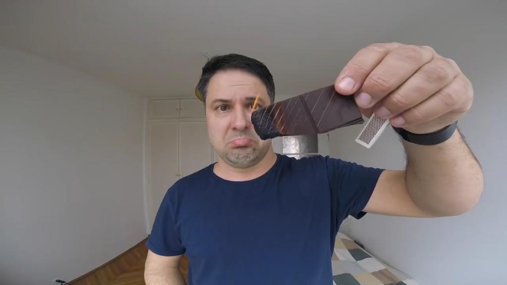 шоколад, горит, шоколадка