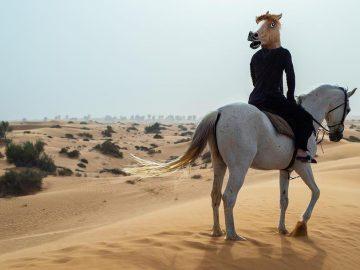 Дуров на коне