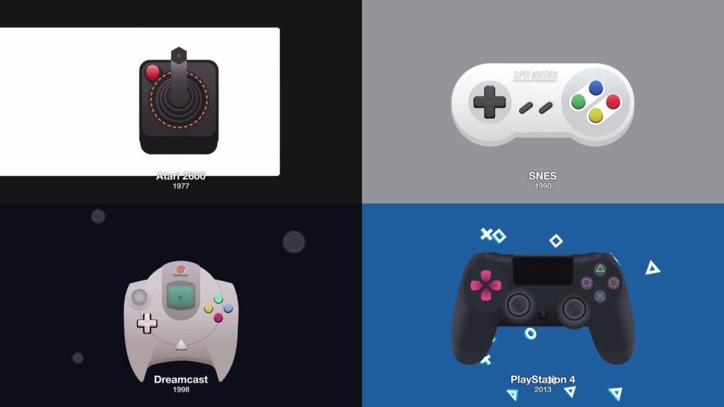 эволюция геймпада
