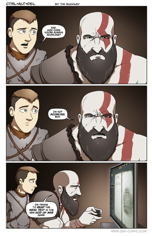 Кратос и Атрей в God of War